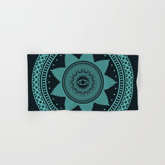 Eye of Protection Mandala Hand & Bath Towel