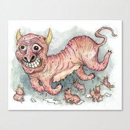 Beastlings Canvas Print