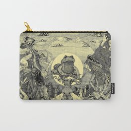 Toad Licking  Carry-All Pouch
