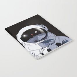 Astronaut Golf Course on the Moon Notebook