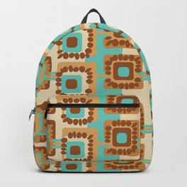 60's Retro by Jezli Pacheco Backpack