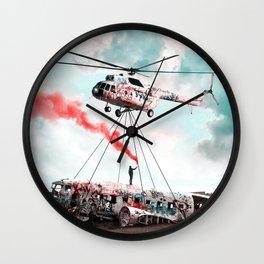 Graff It - Julien Tabet - Photoshop Artwork Wall Clock