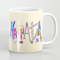 hakuna Mugs featuring Hakuna Matata by Fimbis