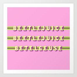 Betelgeuse (Rule of Threes) Art Print