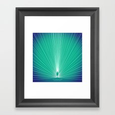 Thought Framed Art Print