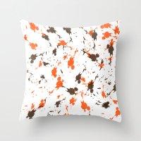 men Throw Pillows featuring Men by Sébastien BOUVIER