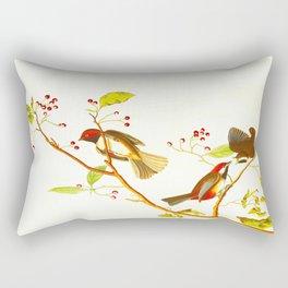 Canadian Titmouse Bird Rectangular Pillow