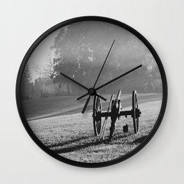 Civil War Cannon Wall Clock