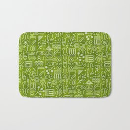 Pickles Picnic Bath Mat