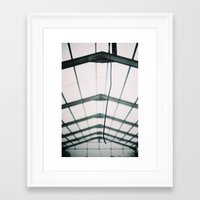 the wire Framed Art Prints featuring Wire by JoelAtkinson