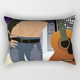 Guitar girl Rectangular Pillow
