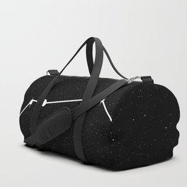 LEO (BLACK & WHITE) Duffle Bag
