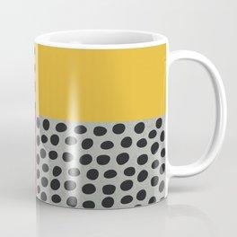Earth Tone, Red Orange Pattern, Scandinavian Design Coffee Mug