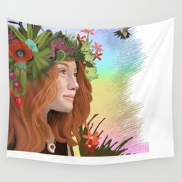 The Choice of Joy Wall Tapestry
