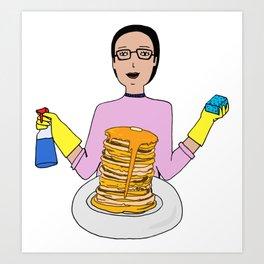 Clean Eating Art Print