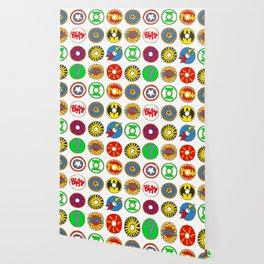 Superhero Donuts Wallpaper