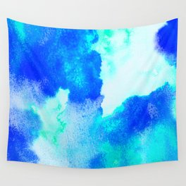 Blue Java Wall Tapestry