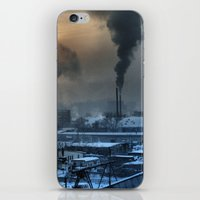 industrial iPhone & iPod Skins featuring Industrial by Abramskama