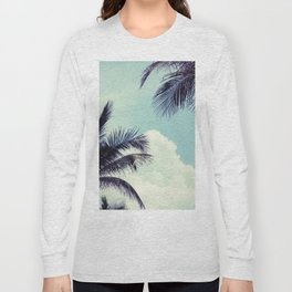 Welcome to Miami Palm Trees Long Sleeve T-shirt