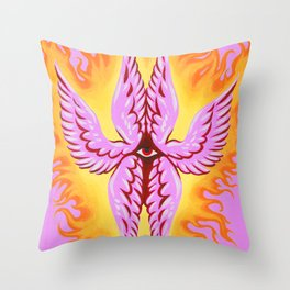 Seraphim Angel-Do Not Be Afraid Throw Pillow