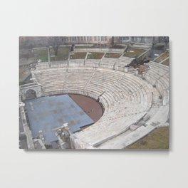 Plovdiv Roman theatre Metal Print