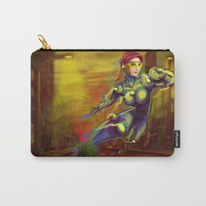 supersonic runner Carry-All Pouch
