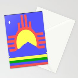 flag of Roswell Stationery Cards