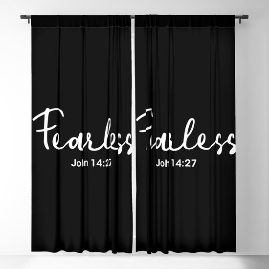John 14:27, Fearless by socoart