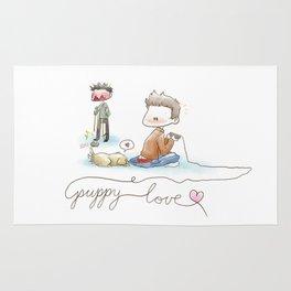Puppy Love  Rug