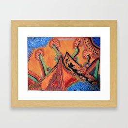 """"""" the mountain """" Framed Art Print"""