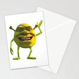 Shrek Wazowski Stationery Cards