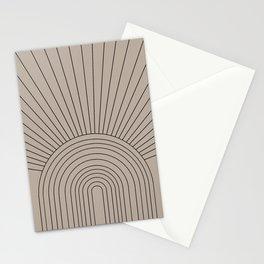 Boho Minimalistic Art Stationery Cards