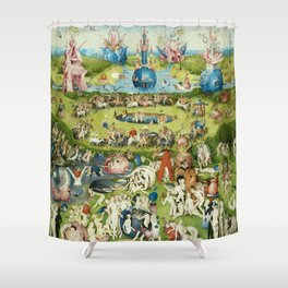 The Garden of Earthly Delights by Hieronymus Bosch Shower Curtain