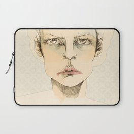 """portrait of anybody"" Laptop Sleeve"
