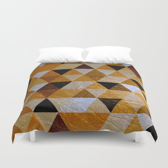 Abstract #352 Duvet Cover