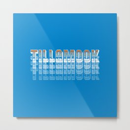 Seasons K Designs Tillamook Sunset Fade Metal Print