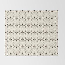 "Art Deco . No. 18 ""Shells."" Throw Blanket"