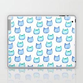 watercolor cats heads Laptop & iPad Skin