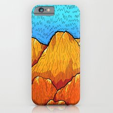 The sandy mountains Slim Case iPhone 6s