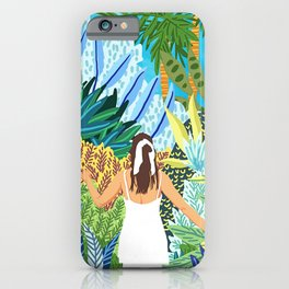 Lost in the Jungle of Feelings iPhone Case