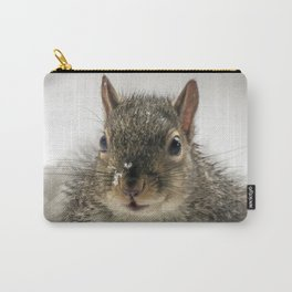 Adorable Praying Squirrel..Feed ME!! Carry-All Pouch