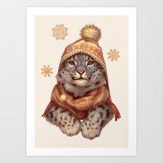 Beanie Weather Art Print
