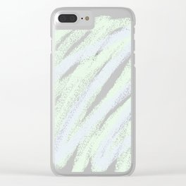 Soft scribble Clear iPhone Case