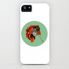 Red Warrior iPhone Case