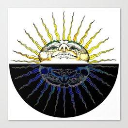 Fat Old Sun Canvas Print