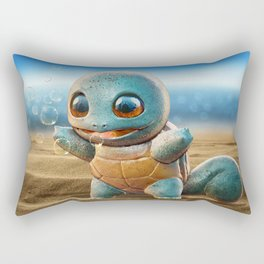 Realistic Squirtle Rectangular Pillow