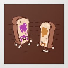 PB vs J Canvas Print