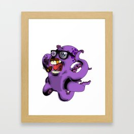 Flight of the Octopus - Mob's Accountant Version Framed Art Print