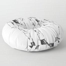 TEGAN AND SARA DOODLE Floor Pillow
