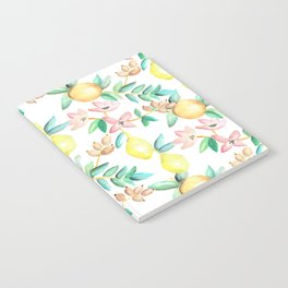 Flowers and Fruits Notebook